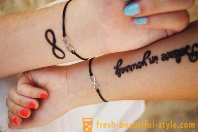 ženska Tetovaža Na Ruci Atraktivna Izraz