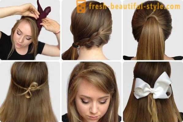 Lijep I Jednostavan Frizura Za Dugu Kosu